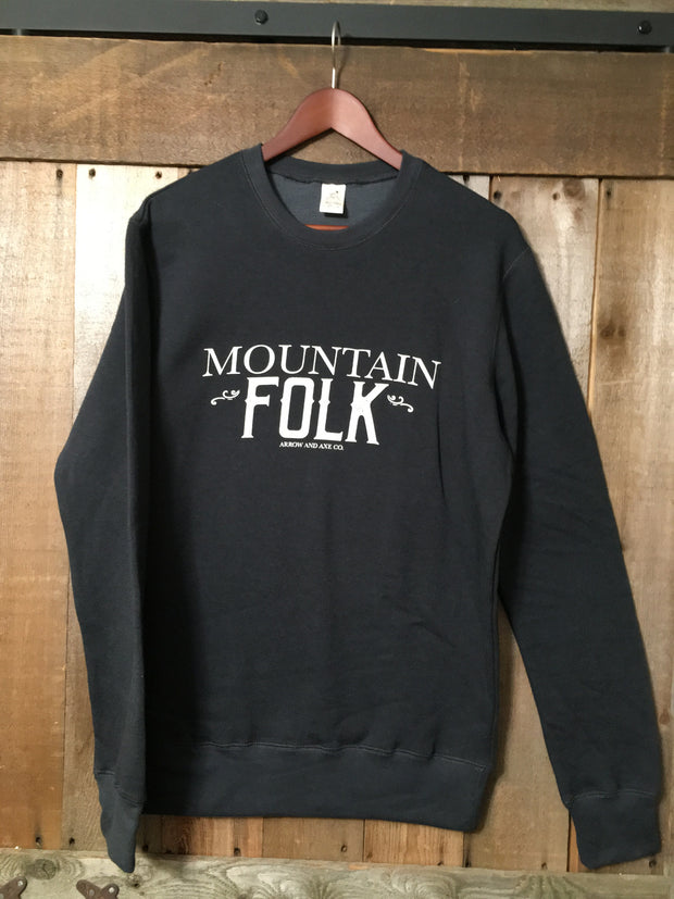 Mountain Folk ~ Arrow & Axe Bamboo Sweatshirt