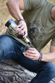Whiskey Blooded ~ Arrow & Axe Short Sleeve