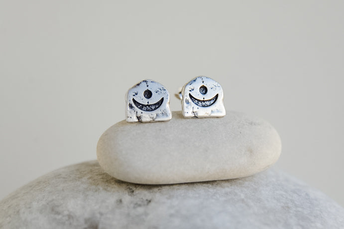 Aya Sun and Moon Studs