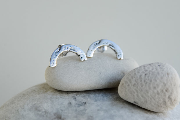 Arch Studs Silver