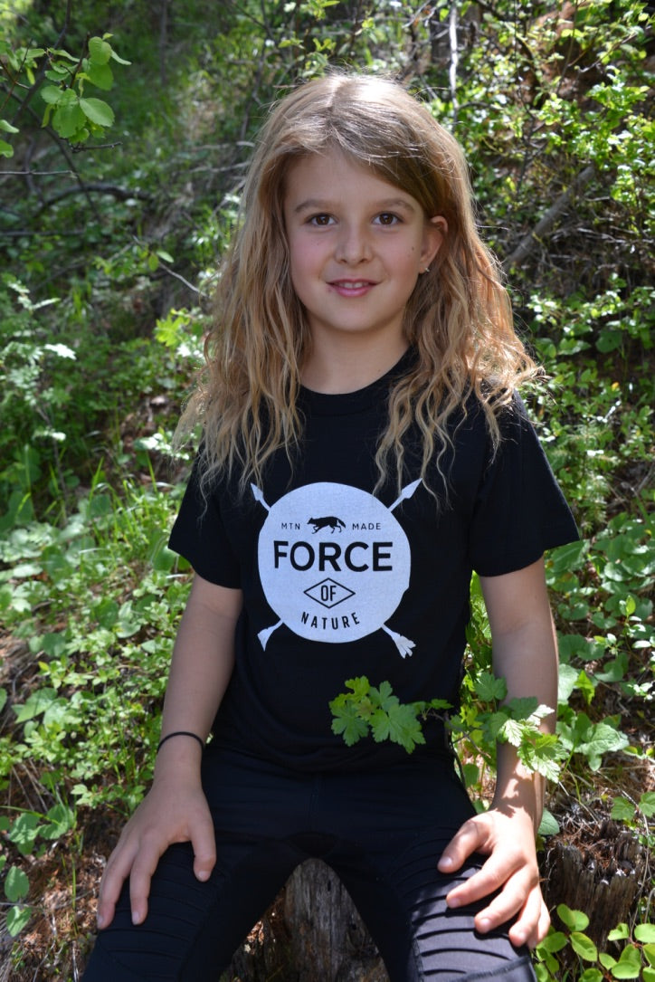 Force of Nature - MTN Made ~ Kids and Youth Shirt T-shirt