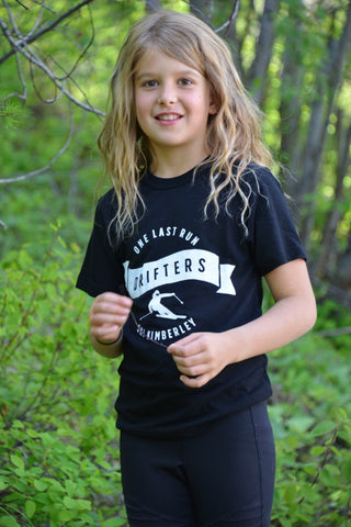 Drifters - One Last Run - Ski Kimberley ~ Kids and Youth Shirt T-shirt