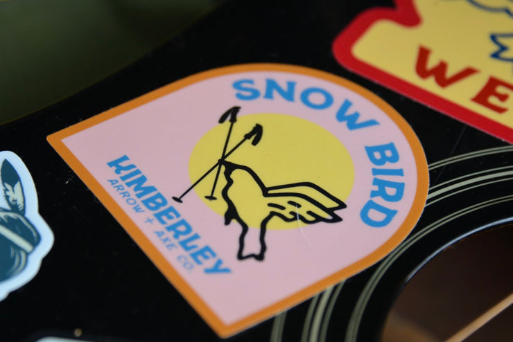 Snow Bird Kimberley Sticker