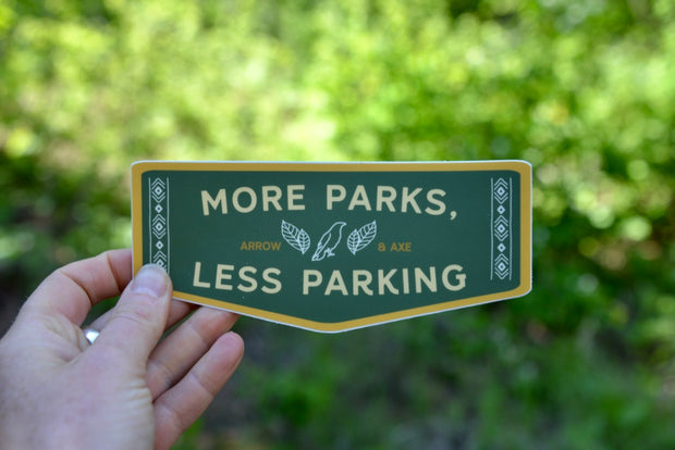 More Parks Sticker