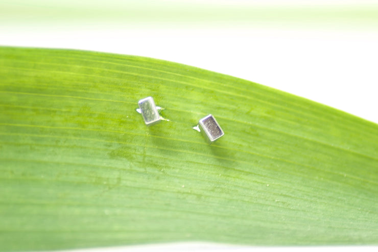 Dainty Cube Studs