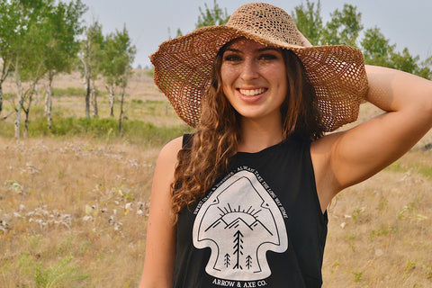 Arrowhead ~ Arrow and Axe Women's Tank