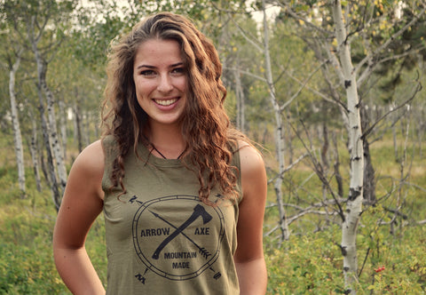Arrow and Axe Logo ~ Women's Tank