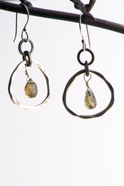 Gia Labradorite Earrings