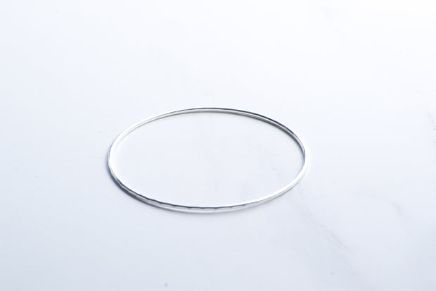 Hand Hammered Fine Bangle