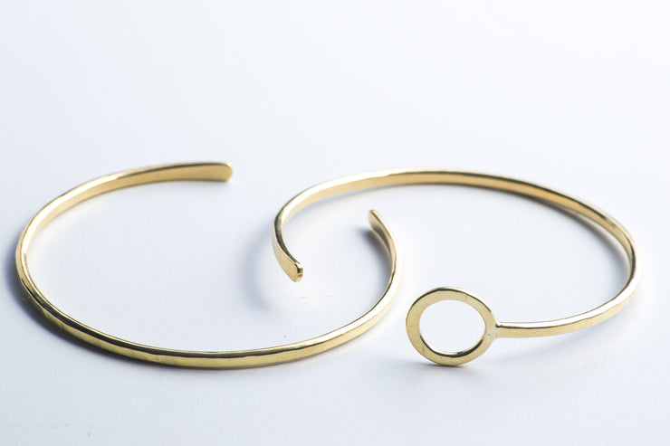 Golden Luna Bangle