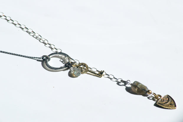 Courage Lariat Necklace