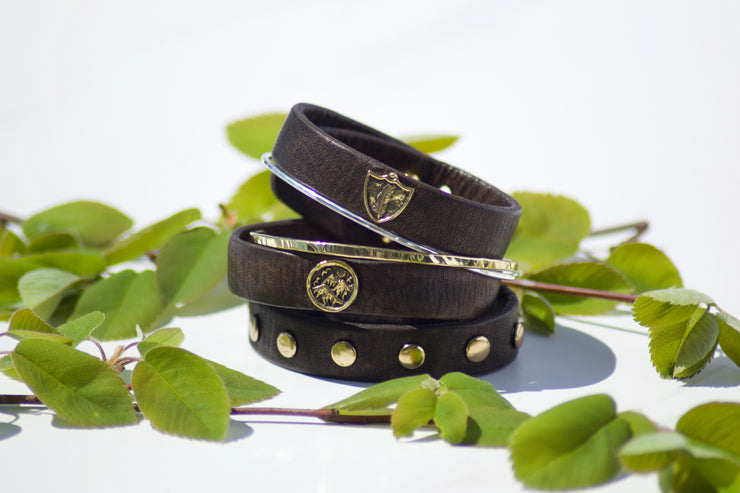 Mountain Leather Bracelet