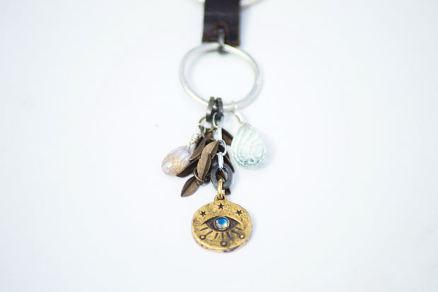Feather Eye Necklace