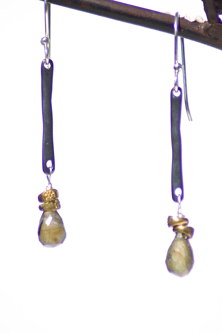 Maven Labradorite Earrings