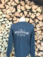 Woodsman ~ Arrow & Axe Unisex Long Sleeve