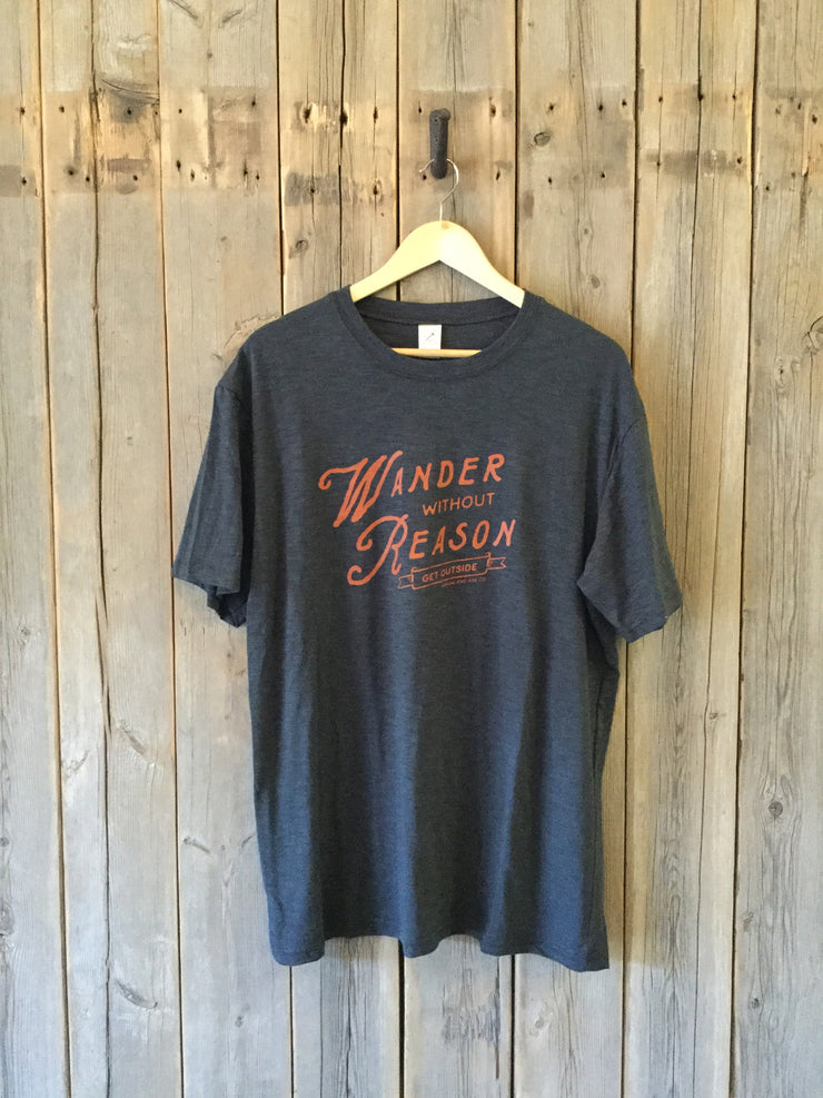 Wander Without Reason ~ Arrow and Axe Mens Shirt