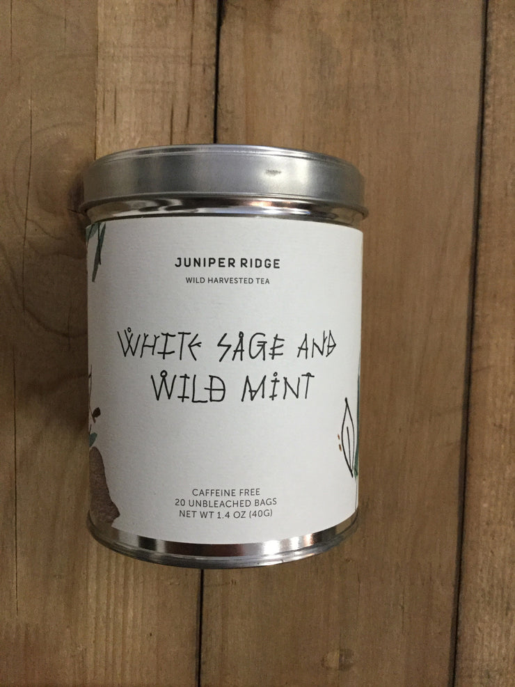 White Sage and Wild Mint Tea