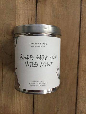 Wild Sage and Mint Tea