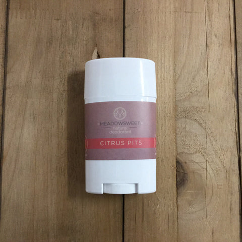 Meadowsweet Wellness Natural Deodorant: Citrus Pits