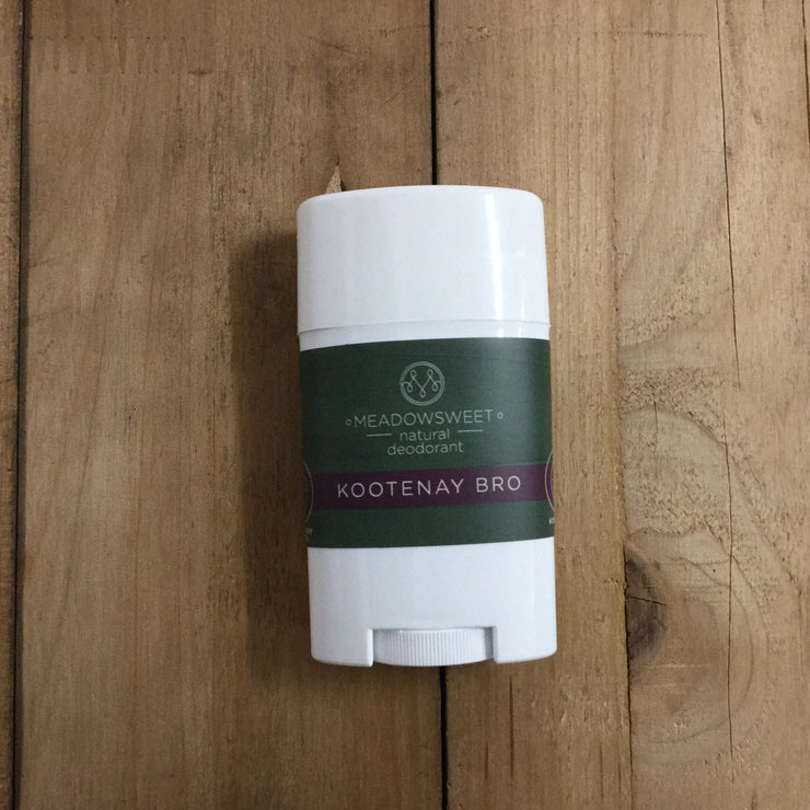 Meadowsweet Wellness Natural Deodorant ~ Kootenay Bro