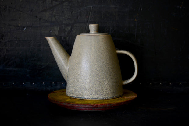 Oyster Ceramic Teapot