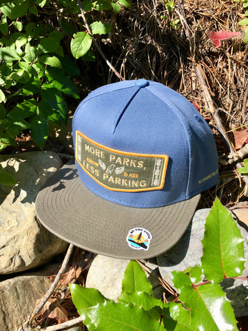 More Parks, Less Parking Truckers Hat Blue