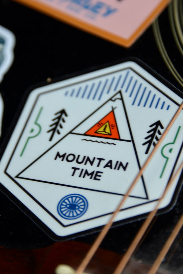 Mountain Time Sticker
