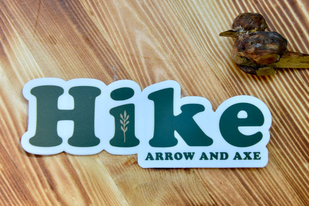 Hike Sticker