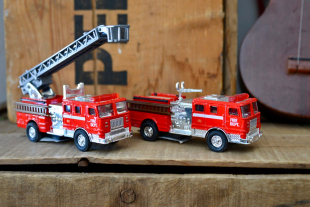 Die Cast Fire Trucks
