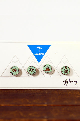 Mountain Mix and Match Studs