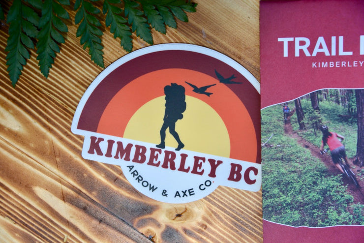 Kimberley BC Retro Sticker