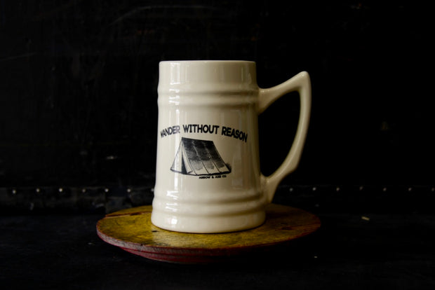 Wander Without Reason Beer Mug