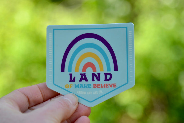 Land of Make Believe Sticker