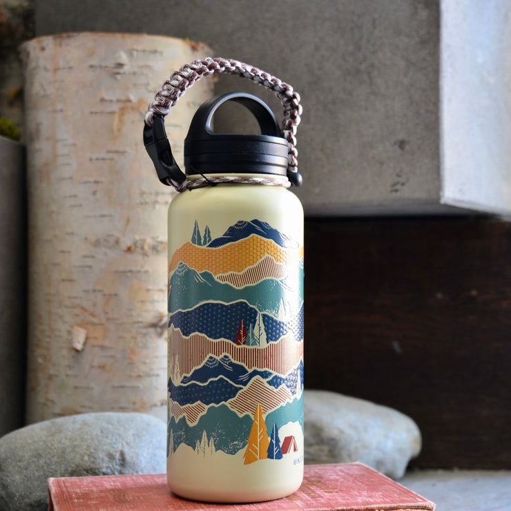 Mountain Scene Bottle
