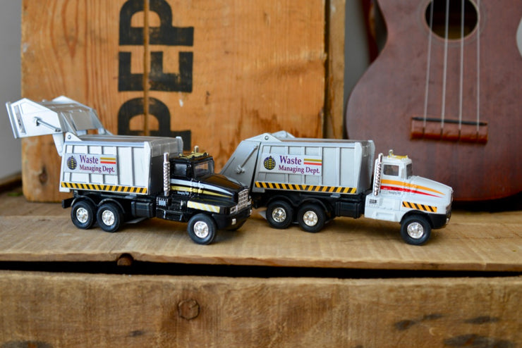 Die Cast Garbage Trucks