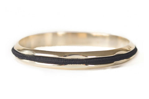 Hair Tie Bangle Gold