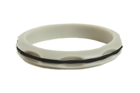 Sport Hair Tie Bangle Gray