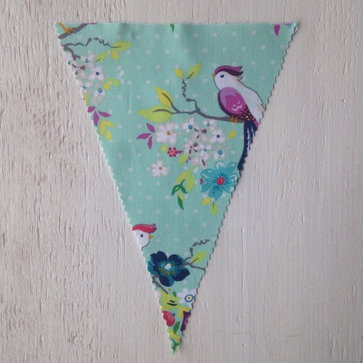 Birds & Flowers Flag