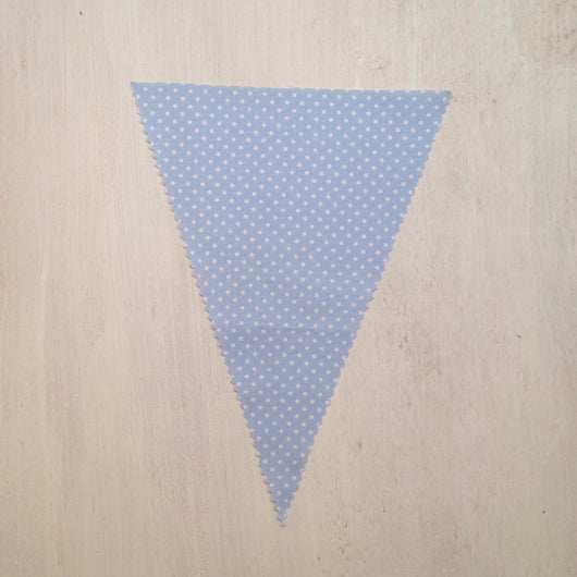 Baby Blue Dot Flag