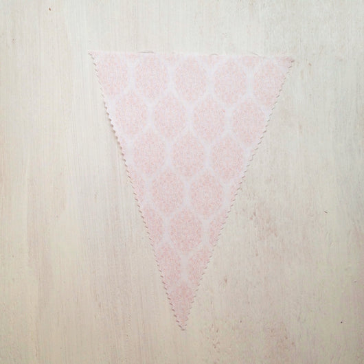 Baby Pink Pattern Flag