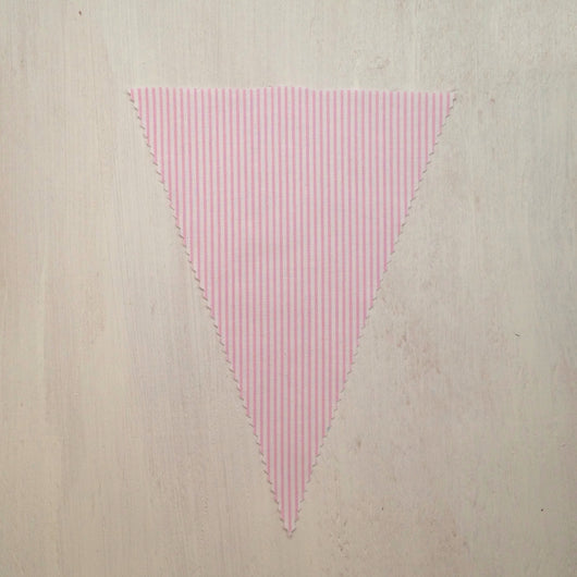 Baby Pink Stripe Flag