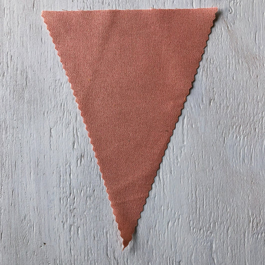 Metallic Rose Gold Flag