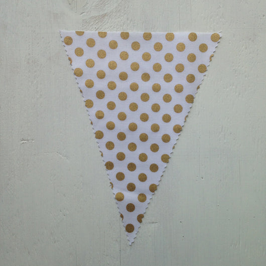 Gold Dot Flag