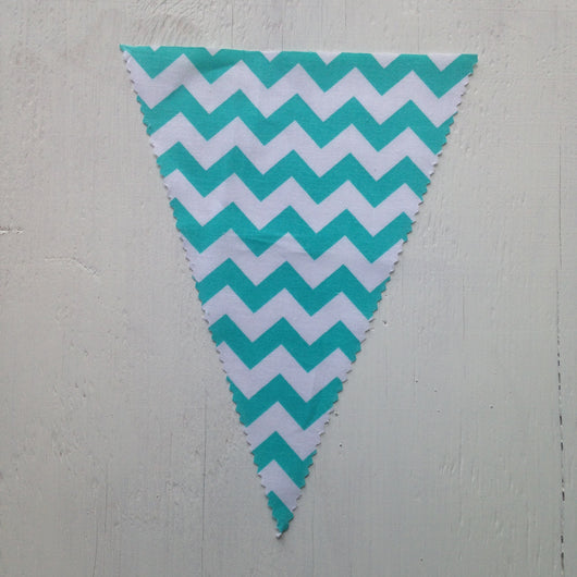 Jade Chevron Flag