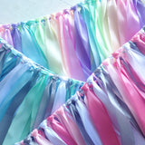 Custom Ribbon Garland - Your choice of colours