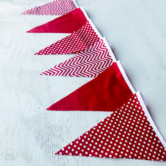 Red Mix Bunting