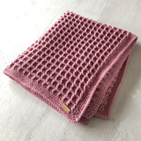 Waffle Baby Blanket - Assorted colours