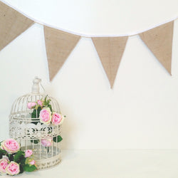 Hessian Wedding Decorations