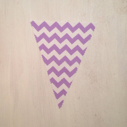 Lilac Chevron Flag