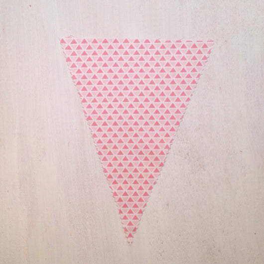 Pink Triangles Flag